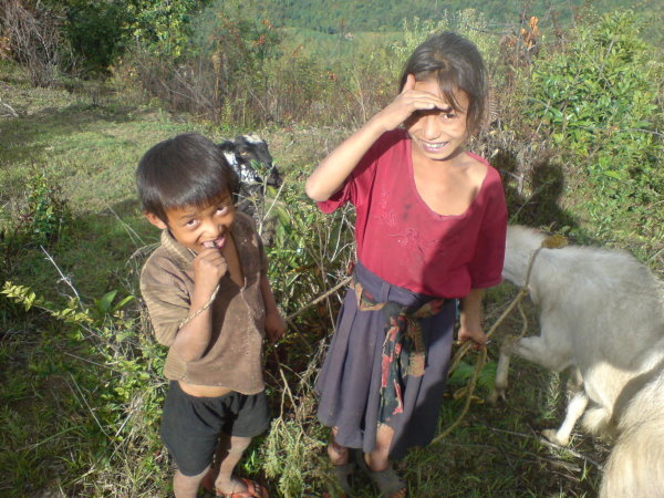 Children in Batase Village