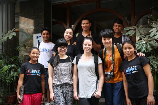 The July Volunteer Group