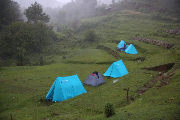 Camping at Chisopani