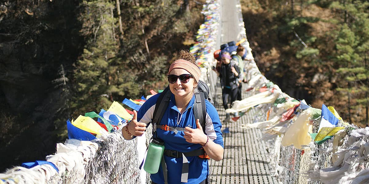 DAY 4: 30th of August:  PHAKDING to NAMCHE