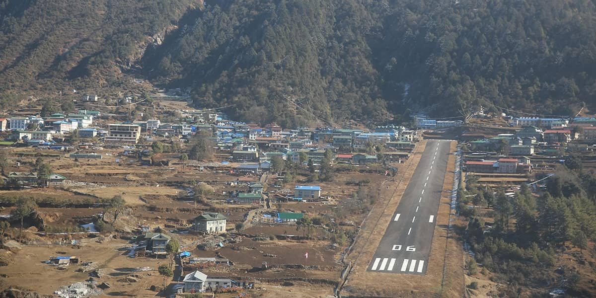 DAY 14: 9th of September: PHAKDING to LUKLA