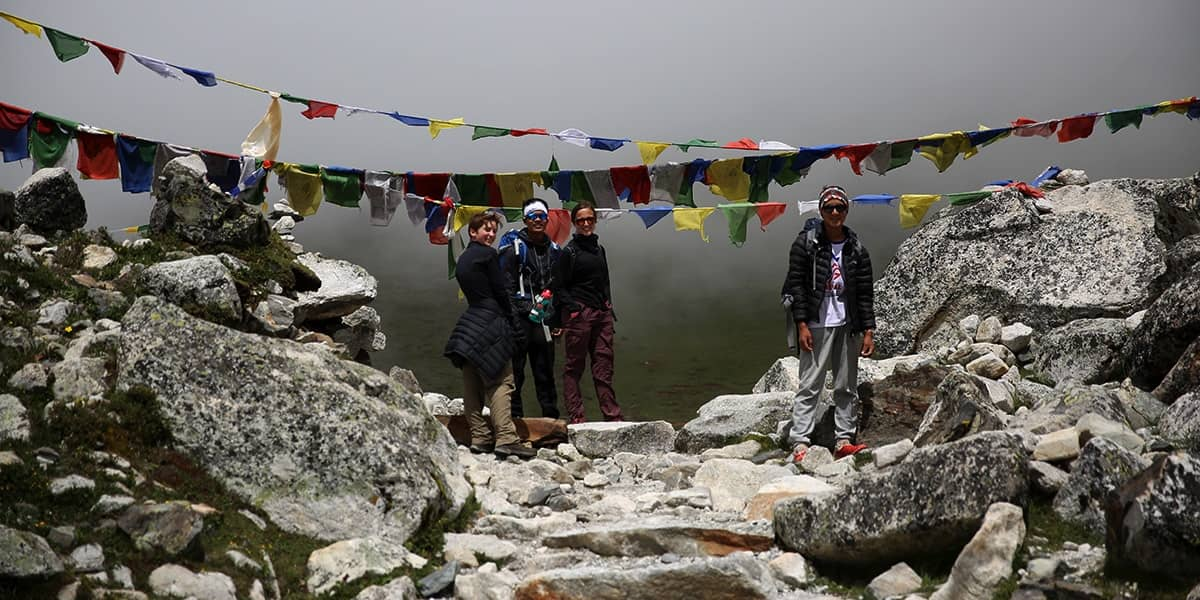 DAY 13: 8th of September: NAMCHE to PHAKDING