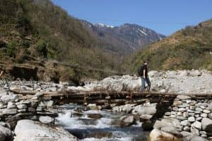 DAY 18 : TREK TO NAYA PUL THEN DRIVE TO POKHARA