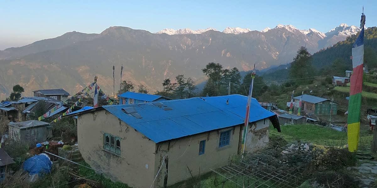 Day 11: Batase village to Chisopani (2100m)