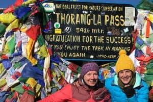 Day 12: Trek from Thorang Phedi – Thorang La Pass (5,416m) to Muktinath (3,800m)