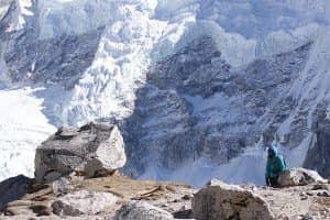 Day 14: GorakShep (5160m) to Kala Patthar (5545m) to Lobuje (4940m)