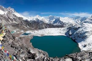 Day 14: Lobuche to Kongma La (5535m) to Chhukung (4740m)