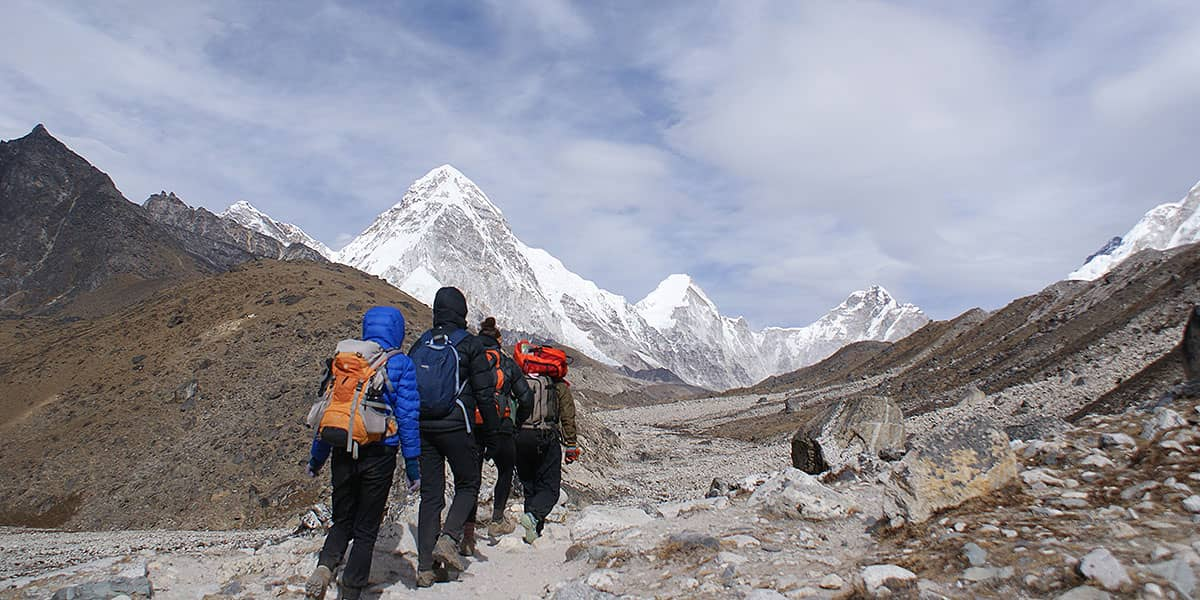 Day 29: GorakShep (5160m) to Kala Patthar (5545m) to Lobuje (4940m)