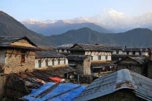 Day 16: Trek from Tatopani to Ghorepani (2,850m)