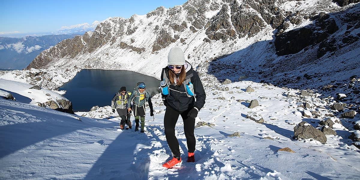 Day 4: Gosaikunda to Tade Pati (3690m, 13km)