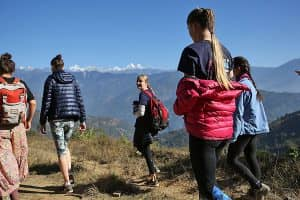 Day 4: Chisopani to Nagarkot (2150m)