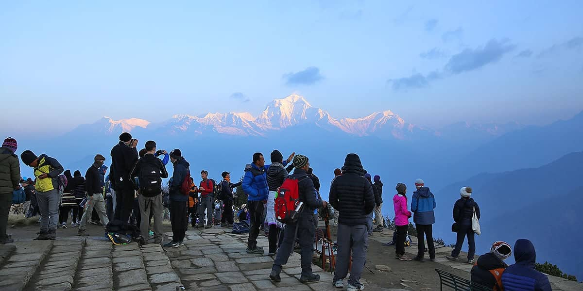 Day 5: Sunrise Trek to Poon Hill and Trek to Tadapani
