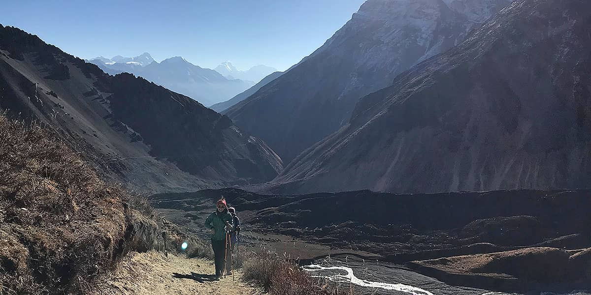 Day 6: Dovan to Machhapuchre Base Camp (3200m)