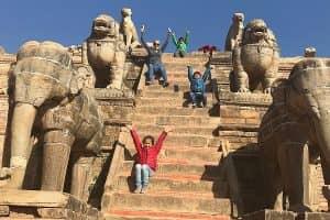 Day 6: Bhaktapure to Kathmandu (1400m)