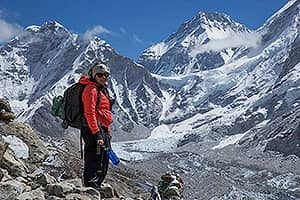 Day 6: Climb Kala Patthar (5,645m) and trek back to Somare (3,930m)