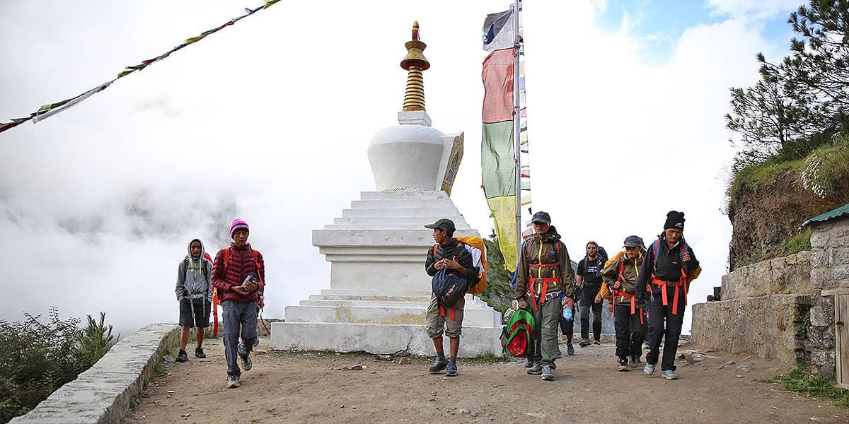Day 6: Kathmandu Fly to Lukla (2800m) Trek to Phakding (2655m)