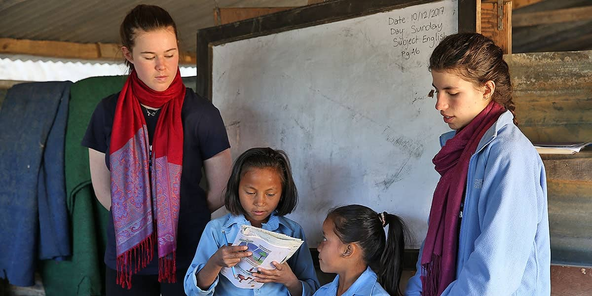 Day 6-8: Teaching in the School - Batase Village