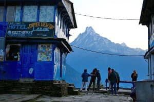 Day 6: Tadapani to Ghandruk