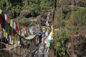 Day 8: Final Day – Batase village to Kathmandu via Naranthan, (1300m, 25km)