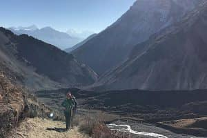 Day 8: Trek from Pisang to Manang (3,540m)
