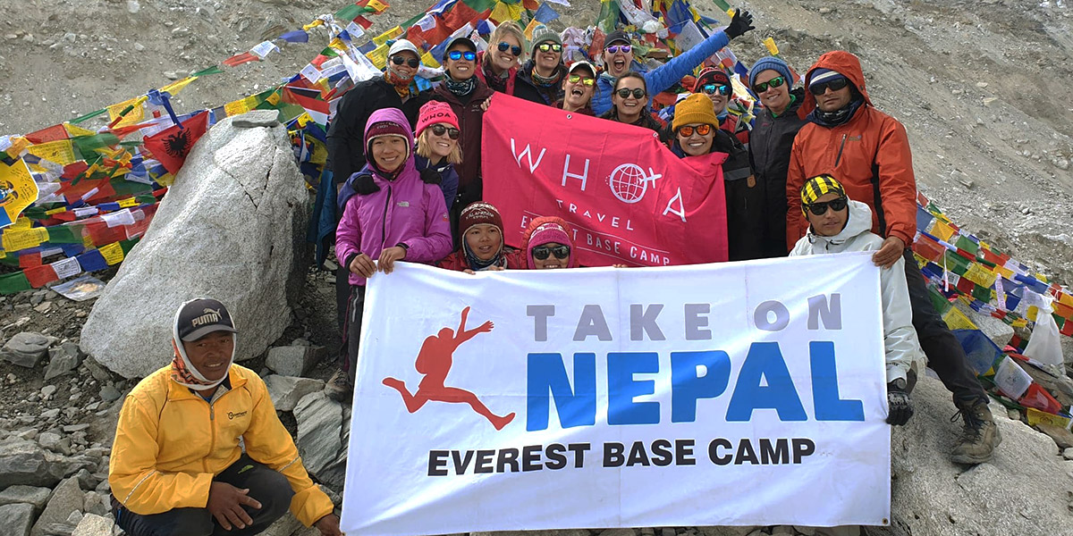 Day 9: Lobuje to Everest Base Camp