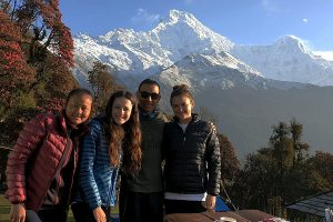 Day 4: Ghandruk to Chhomrong