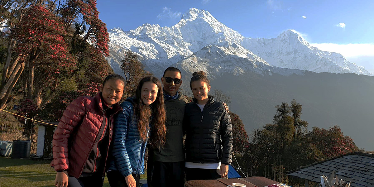 Day 3: Naya Pul to Ghandruk