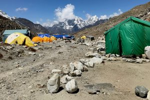 Day 17: Chukhung to Island Peak Base camp