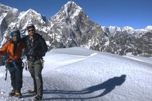 Day 12: Peak Summit & return to Lobuche