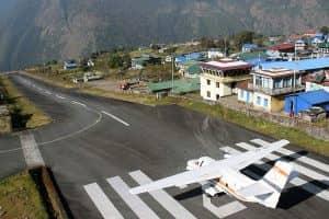 Day 21: Kathmandu fly to Lukla (2800m), Trek to Phakding (2655m)