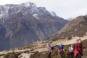 Day 25: Tengboche to Pheriche (4250m)
