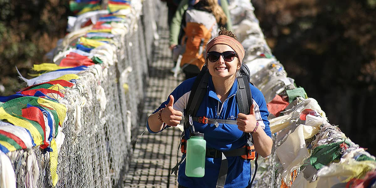 Day 3: Phakding to Namche (3445m)
